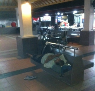 Have they solved the homeless sleeping in public places? (6/6)