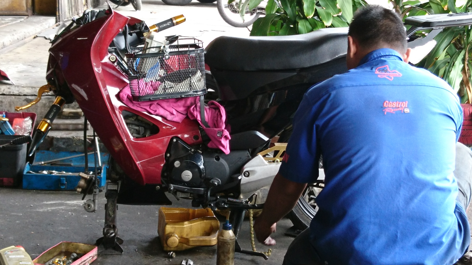 Cheap motorcycle repair in JB – Johor Bahru | Gintai_昇泰